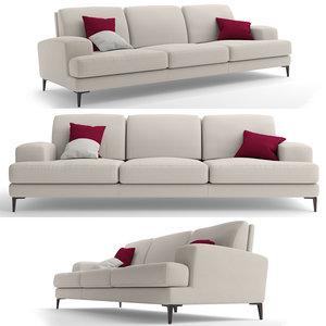 sofa furniture misuraemme 3D model
