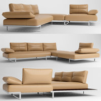 3D sofa furniture natuzzi