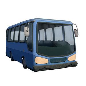 toon bus 3D