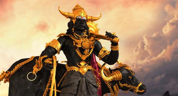 3D model god yemadharmaraja