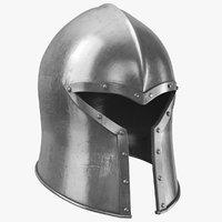 real medieval helmet 3D model