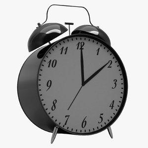 3D classic alarm model