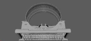 old typewriter model