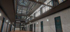 3D prison house -