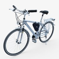 ktm city bicycle 3D model