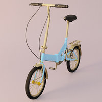 bicycle cycle 3D model
