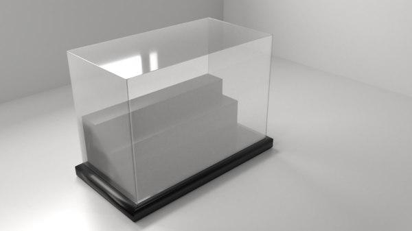 3D model acrylic case 7