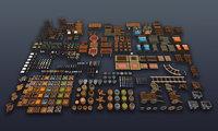 3DRT - Fantasy props bundle
