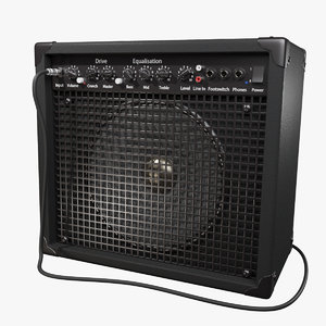 3D guitar amp amplifier