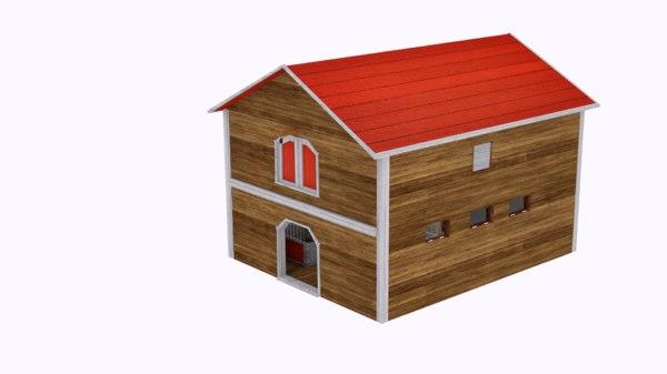 agricultural 3D model