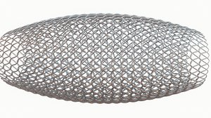 3D modeled medical stent