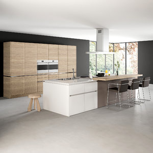 3D realistic kitchen 1