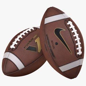 american football sports ball 3D model