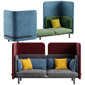 buzzi sofa 3D