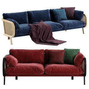 3D buzzi sofa model