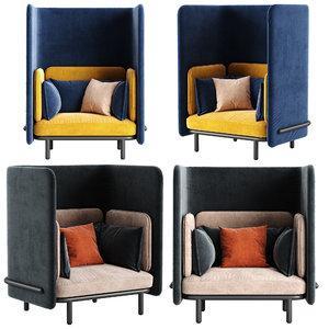 3D buzzi chair model