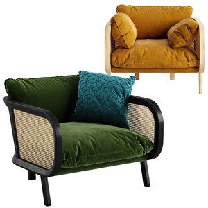 buzzi chair 3D model