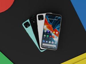 pixel 4 xl colors model