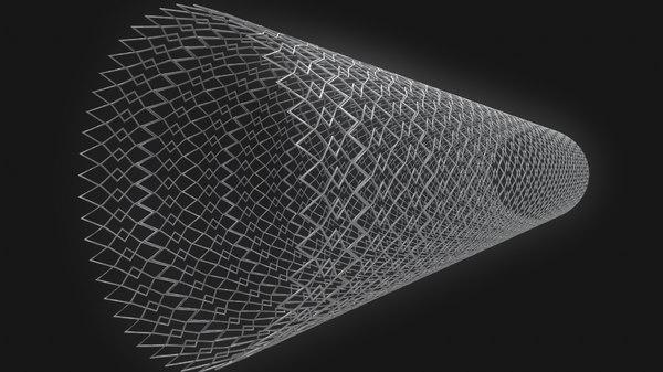 3D modeled medical stent