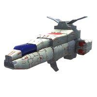 space bomber 3D model