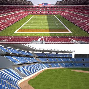 stadium 2 3D model