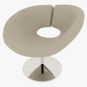 stool modeled arnold 3D model