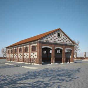 3D warehouse building