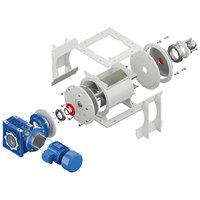 3D rotar rotary feeder model