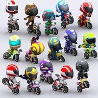 chibii racers - 3D