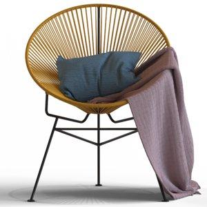 cult furniture armando chair 3D model