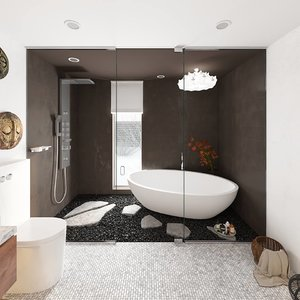 bathroom designed 3D
