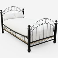 wrought iron model