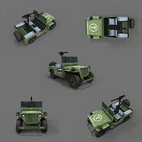 army jeep 3D