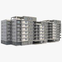 3D apartment building 37