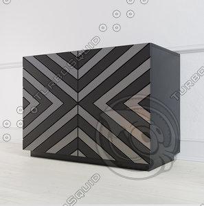 3D model ambicioni ribero black