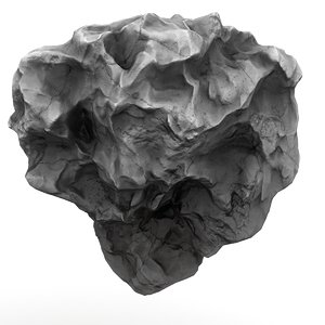 meteor asteroid rock model