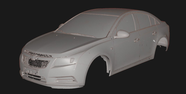 chevrolet cruze 2014 scanned 3D model