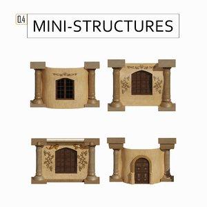 structures 0 4 3D model