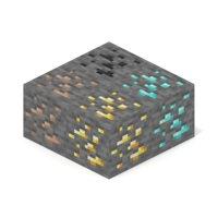 minecraft primary ore blocks 3D model