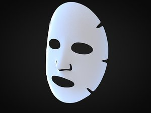 cosmetic mask 3D