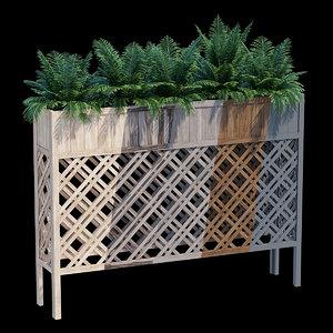 flower box 3D model