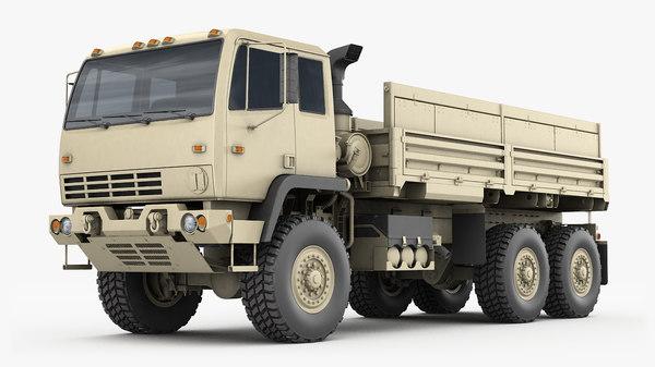 m1083 cargo truck model