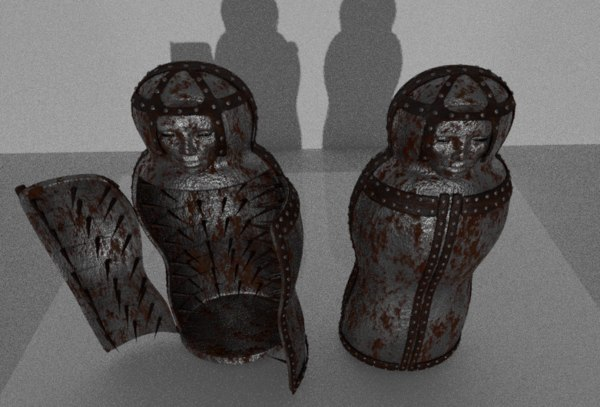 3D iron maidens open closed