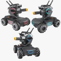 3D model dji robomaster s1