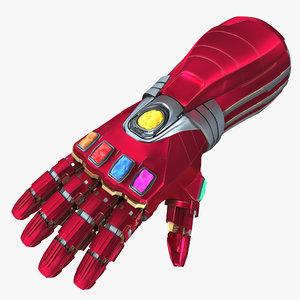 nano gauntlet 3D model