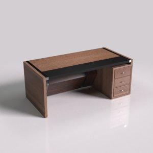 manager wooden desk model