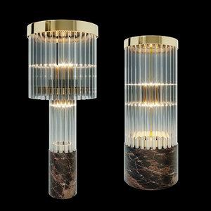 3D model table lamp ii