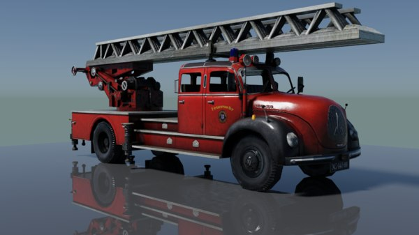 old truck 3D