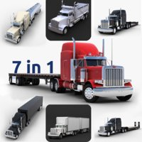 Collection of Trucks 7 in 1
