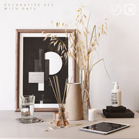 3D oat decor